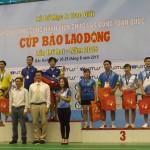Bế mạc giải cầu lông CNVCLĐ Toàn quốc – Cúp Báo lao động 2015 thành công tốt đẹp