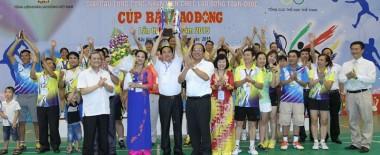 Giải cầu lông Cúp Báo Lao Động 2015 – Cúp vô địch lần nữa lại về tay Bắc Ninh