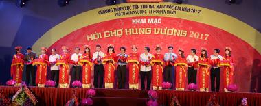 Phú Thọ chào đón Hồng Linh Cốt tại Hội chợ Hùng Vương 2017